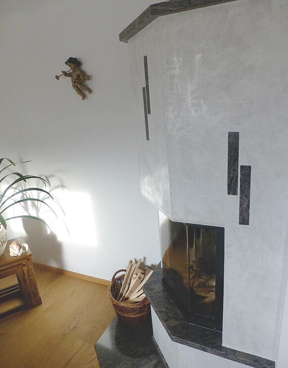 Stucco Veneziano Kamin - Klein aber fein